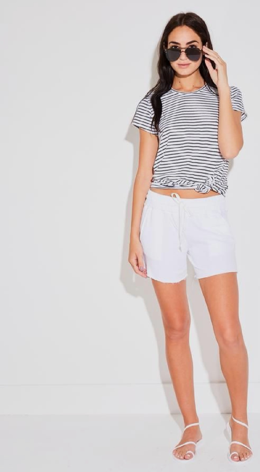 sew a pair of shorts -