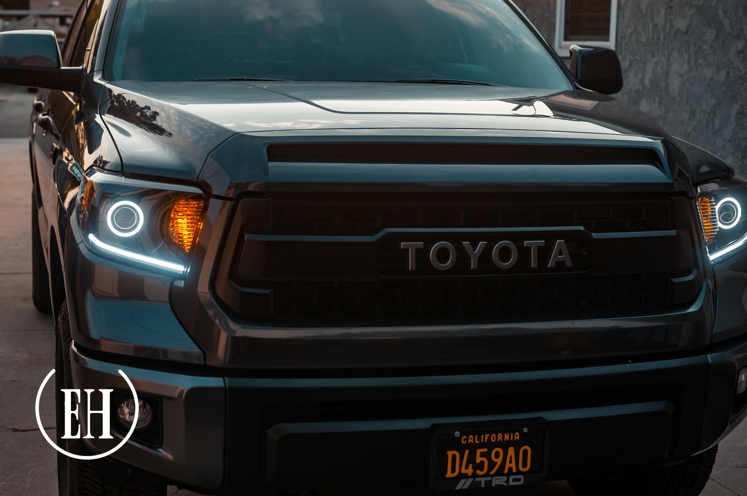 Toyota Tundra Gallery Evil Headlights Custom Retrofitting Service In Southern California