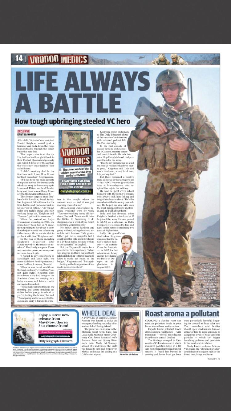Daily Telegraph - Dan Keighran story.PNG