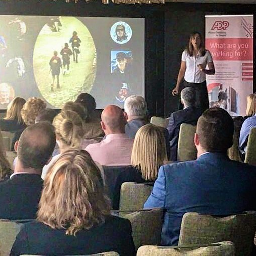 A great talk today at the @adp lunch and learn, arranged via the always helpful @nmplive. Lovely people, interesting conversations and of course great views from The Shard. #keynotespeaker #motivationalspeaker #lifeofadventure #liveboldly #shareyourstory