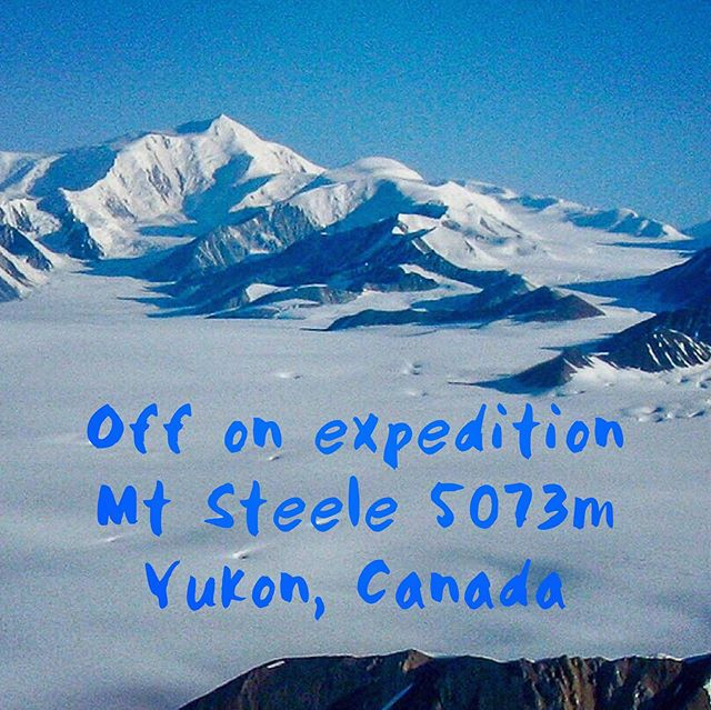 I've started the long journey to the far north of Canada for my next expedition. A ski ascent of Mount Steele 5073m, in the Kluane National Park in the Yukon. #kluanenationalpark #expedition #skimountaineering #lifeofadventure #liveboldly