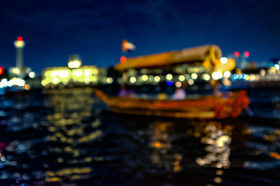channelling monet in impression: boatman  (Fuji X100T set to Velvia)