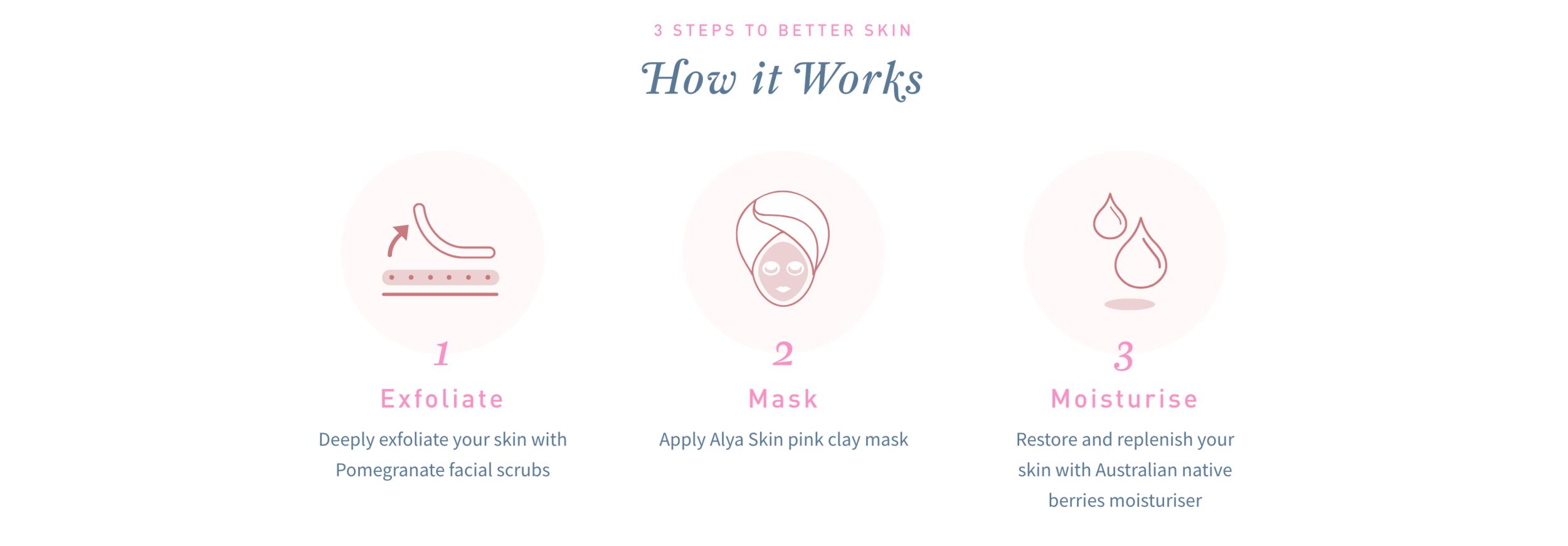 3 Step Alya Skincare Programme