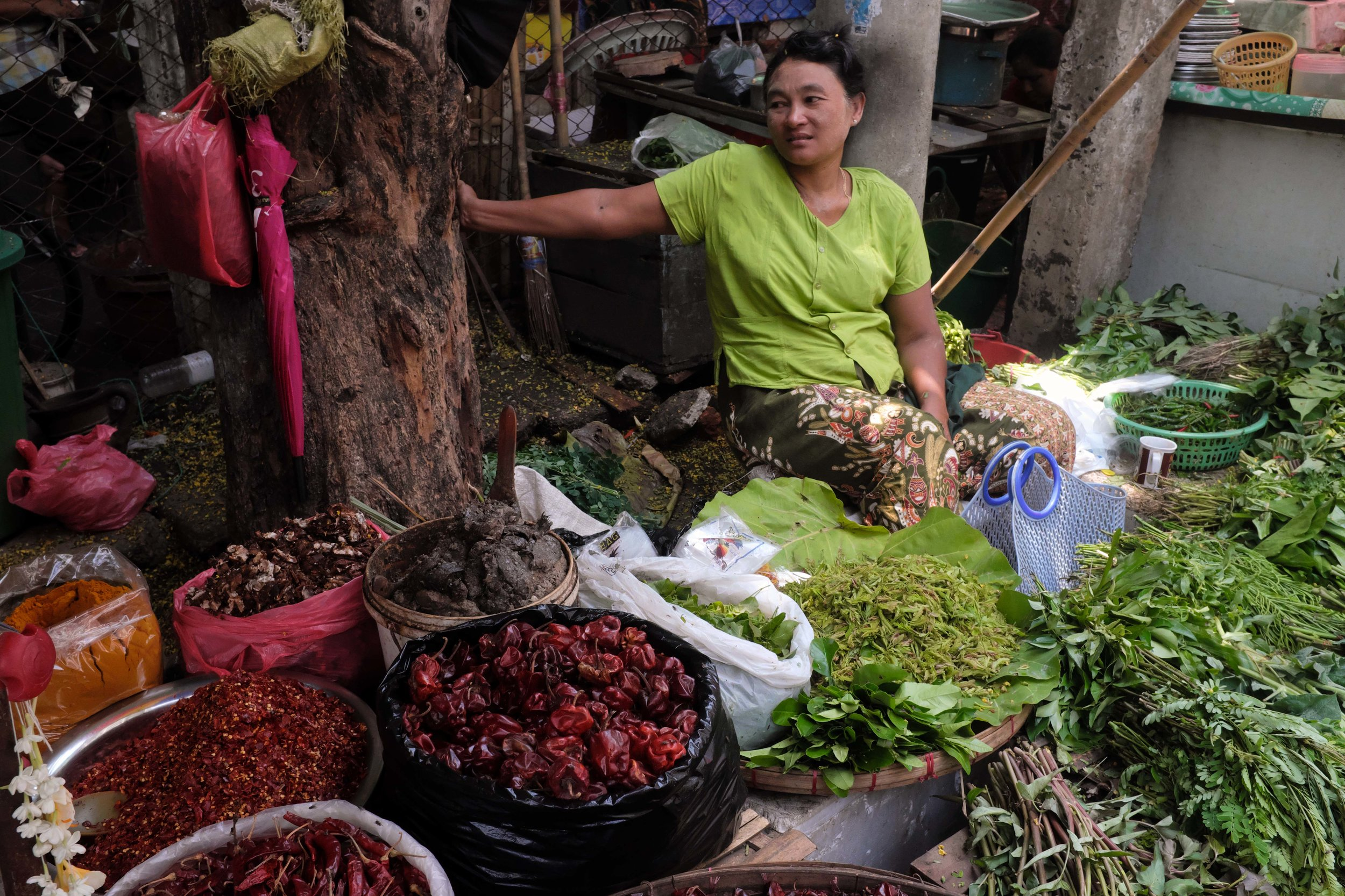 Yangon Market - Breakfast Street Food Tour