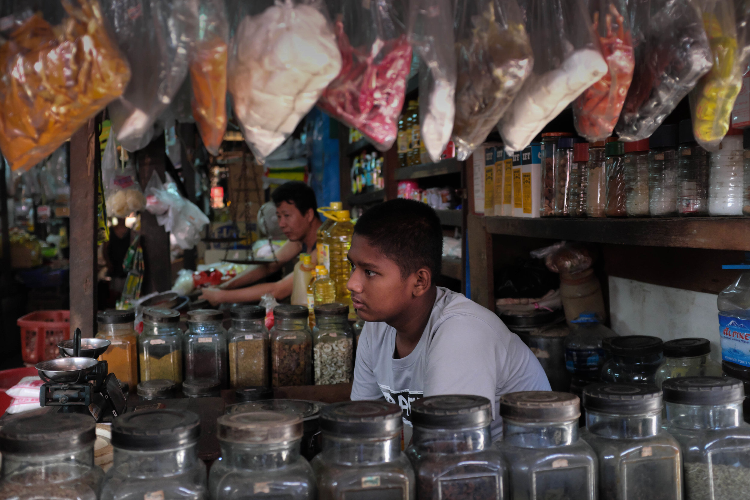 Son of a spice seller - Yangon Sa Ba Street Food Tour