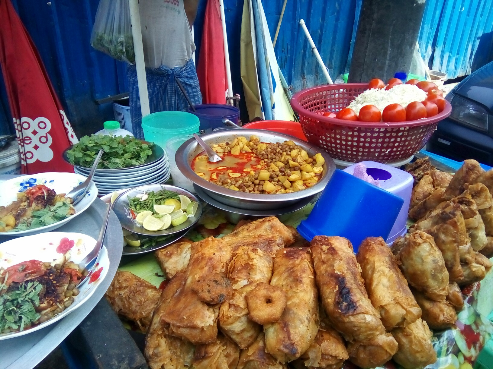 Yangon Sa Ba Street Food Tour