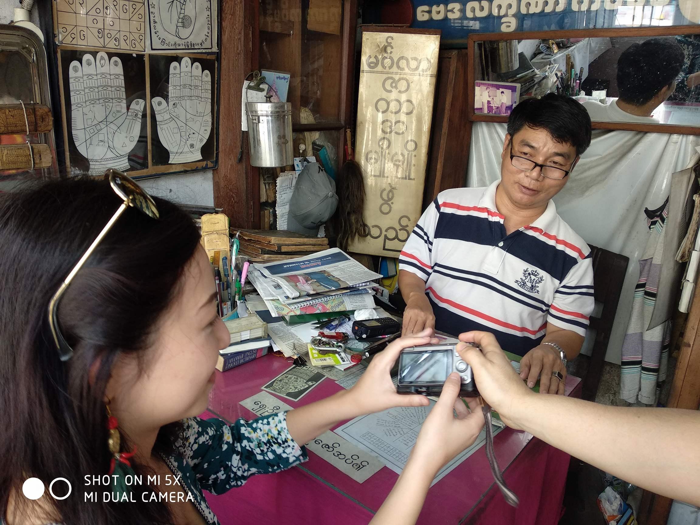 Yangon fortune teller astrologist