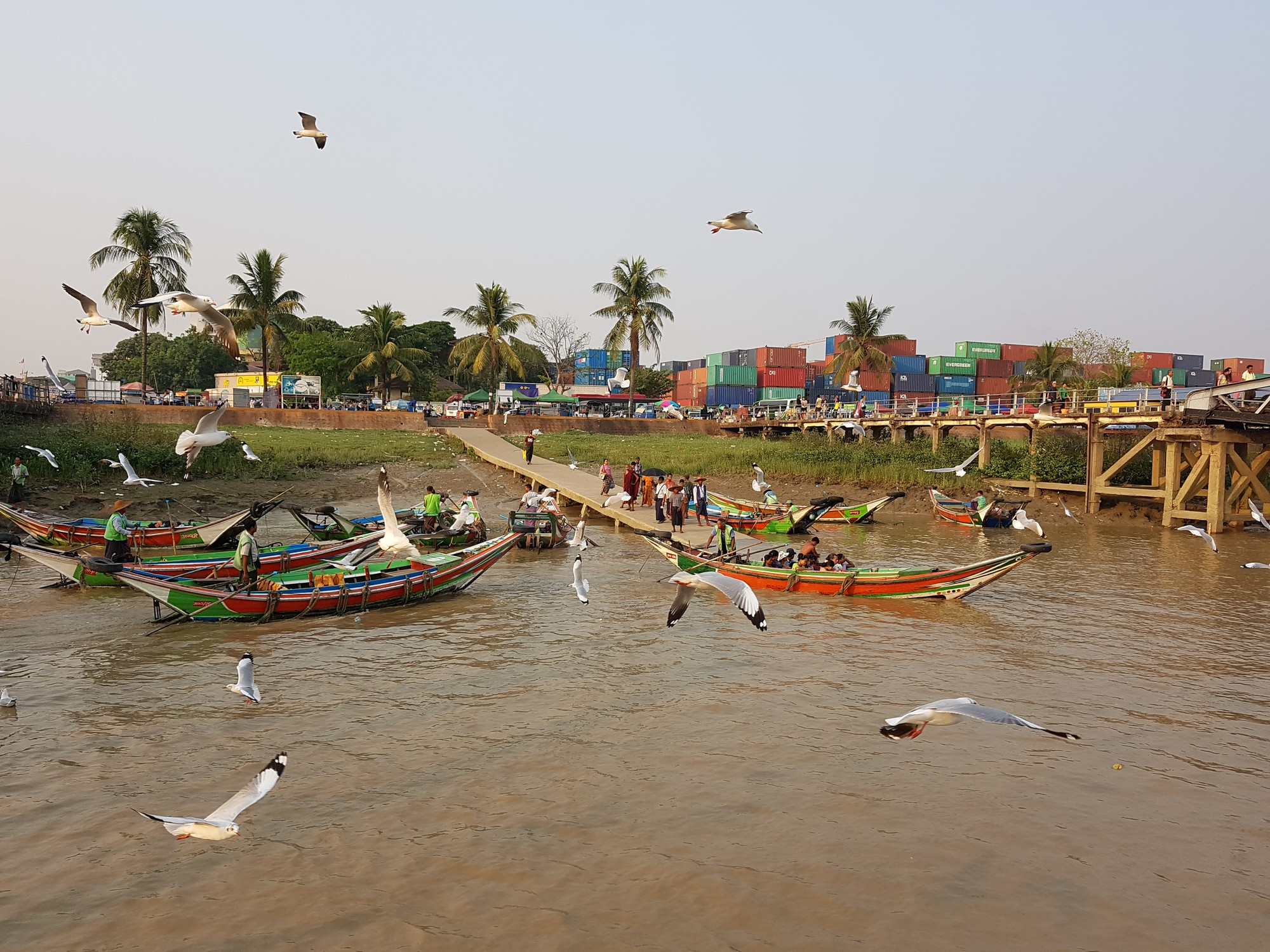River life in Yangon is a breath of fresh air