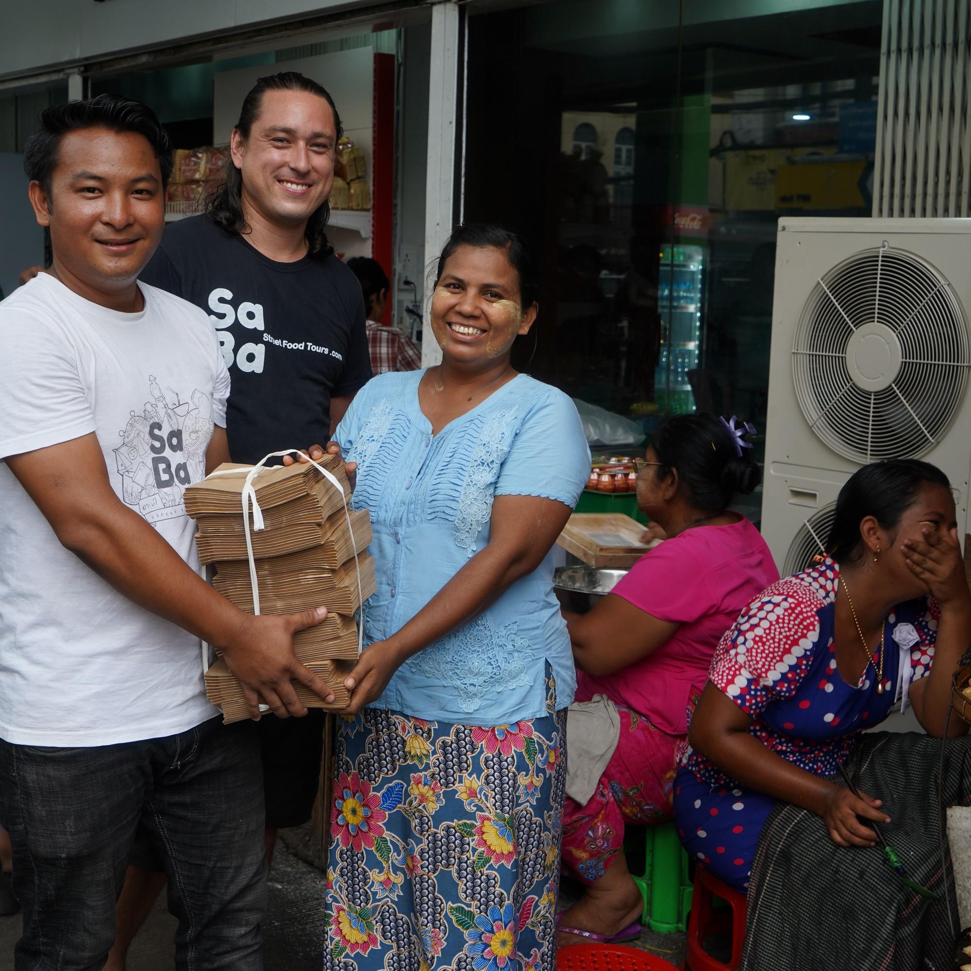 Ban plastic bags in Yangon