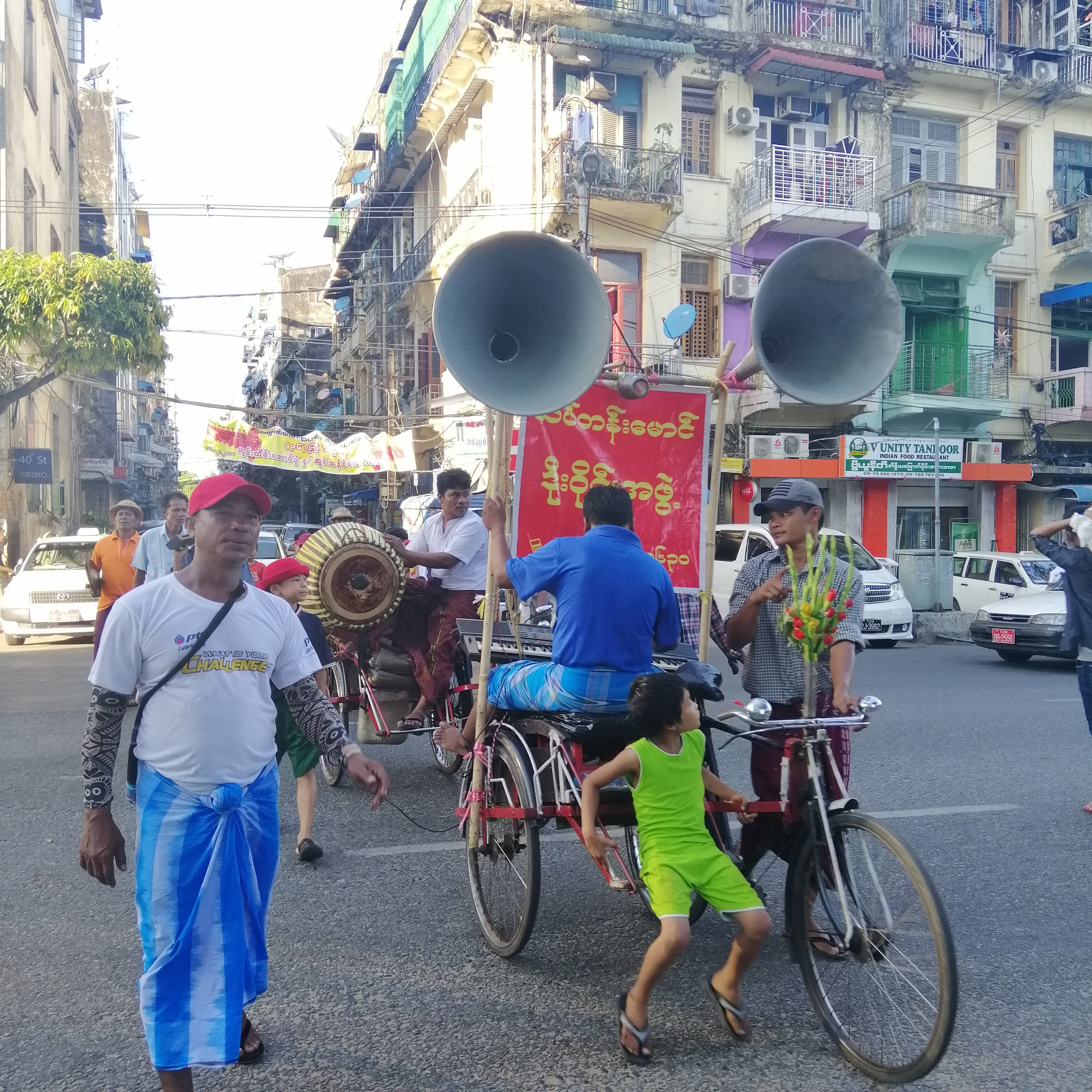 Yangon Food Tour by Trishaw