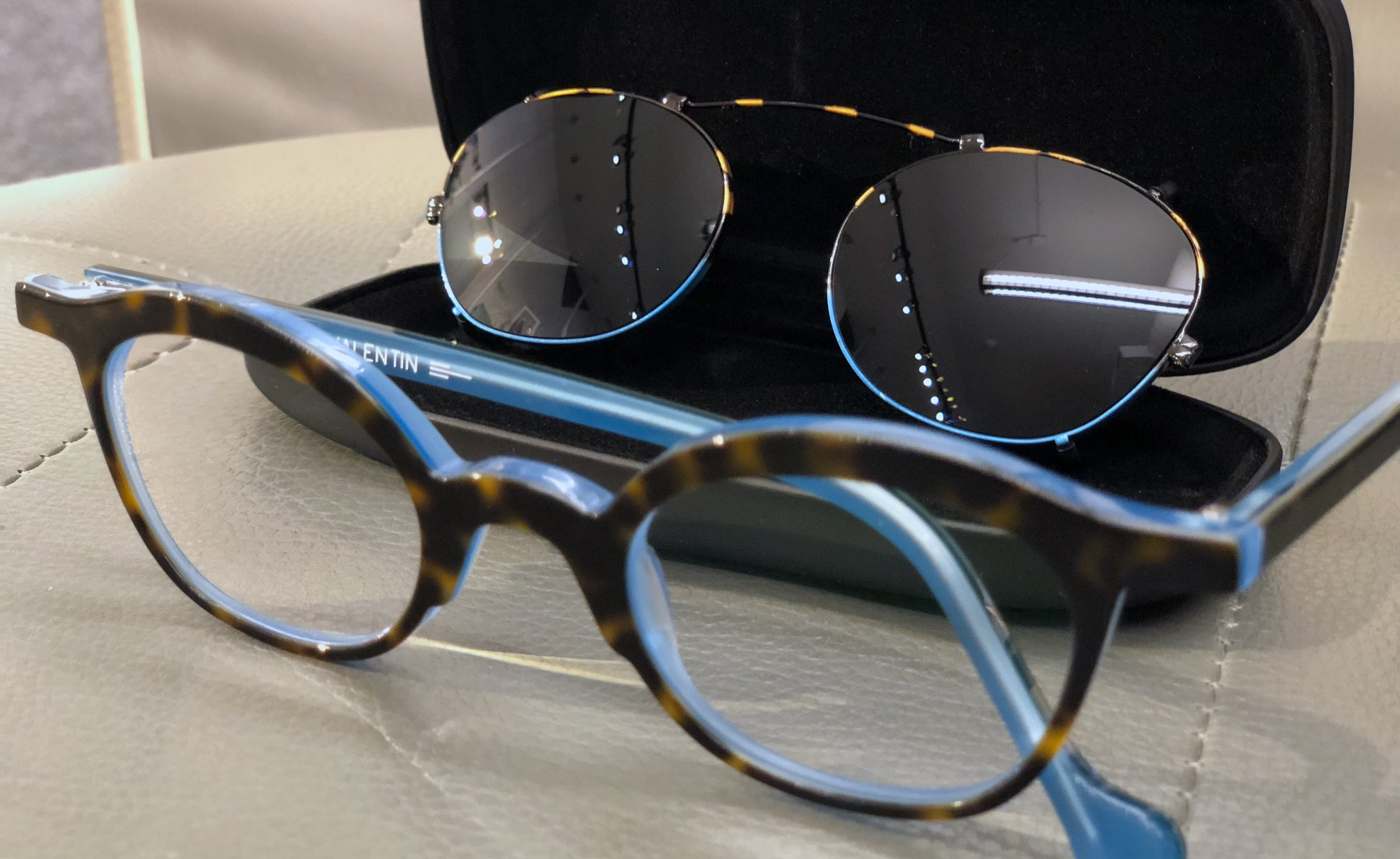 "Every order is ""custom"" at Wink eyewear - Custom Sunglass Clip on"