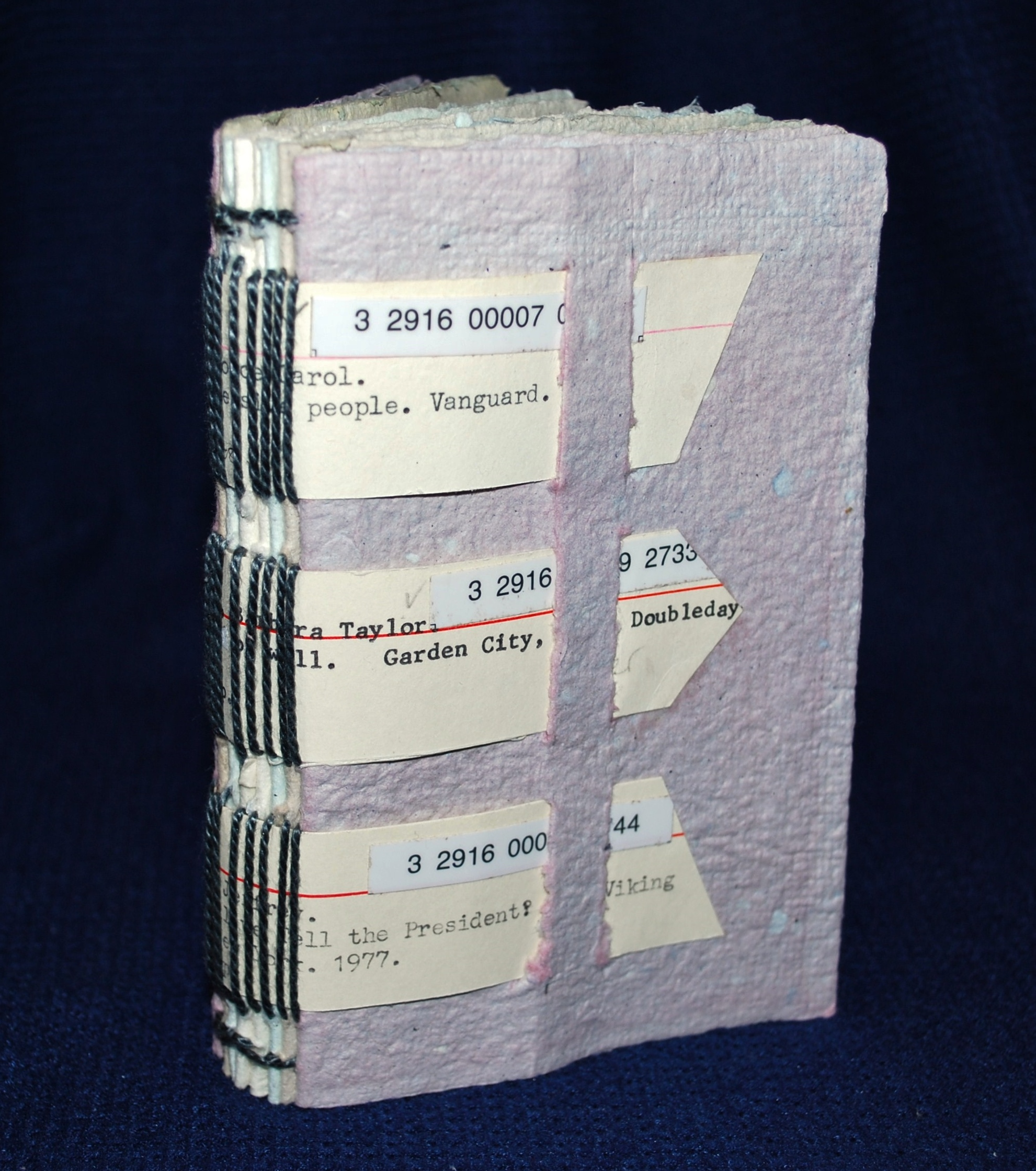Pulp From Fiction 2 (handmade book)