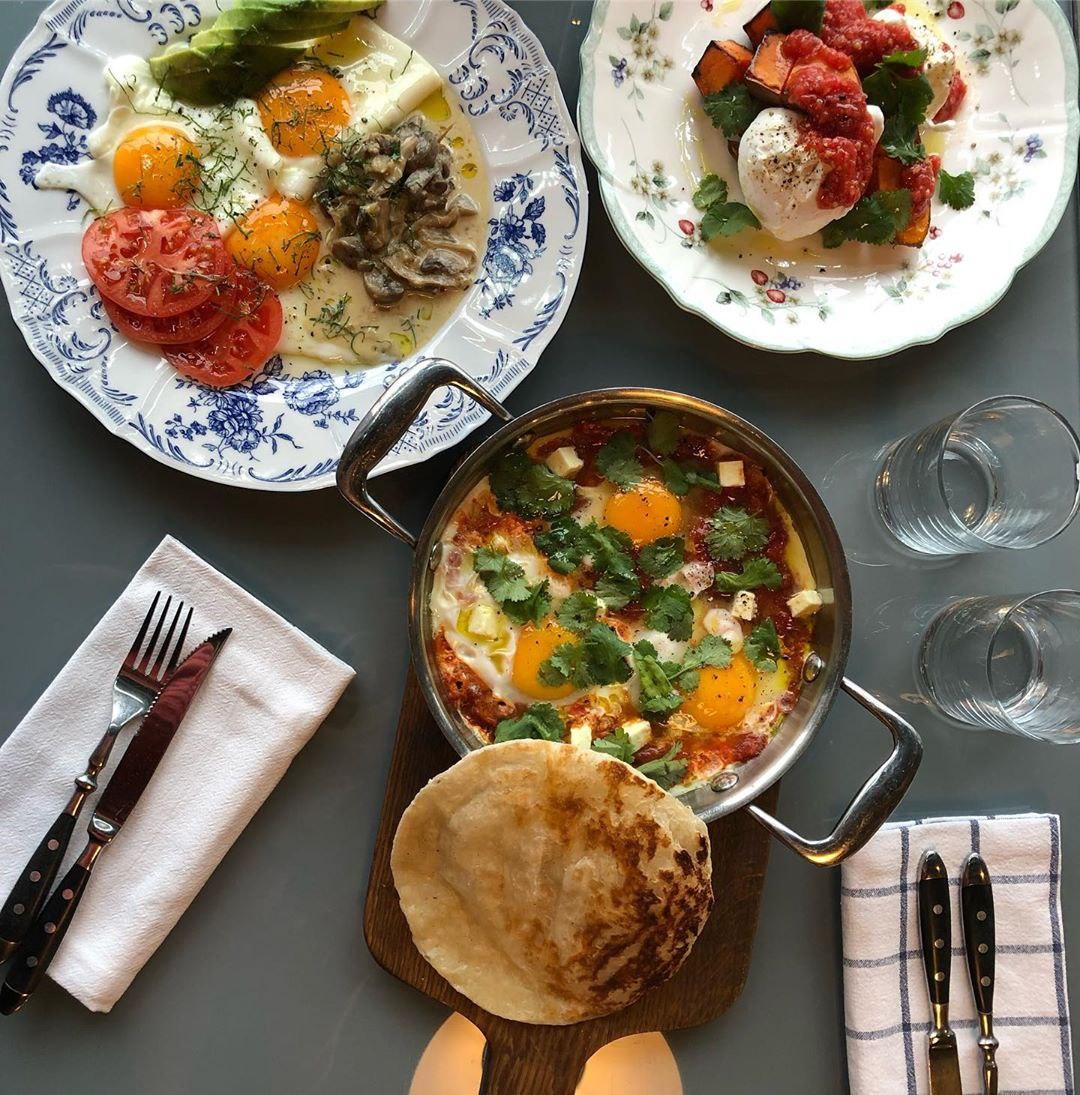 Завтраки в ресторане Glenuill