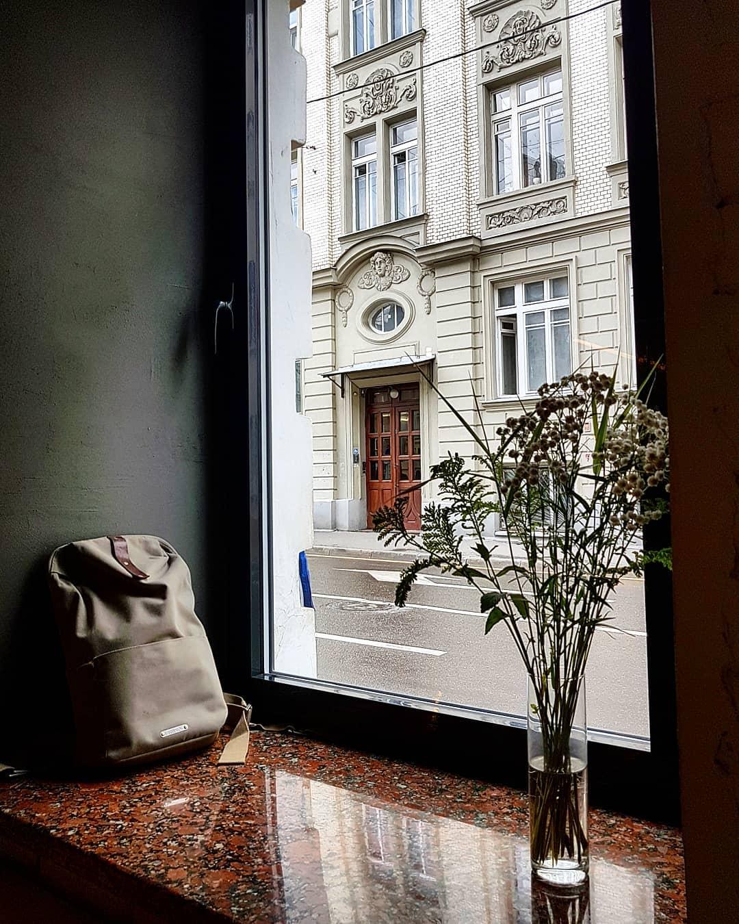 Вид из окна кофейни Кооператив Чёрный