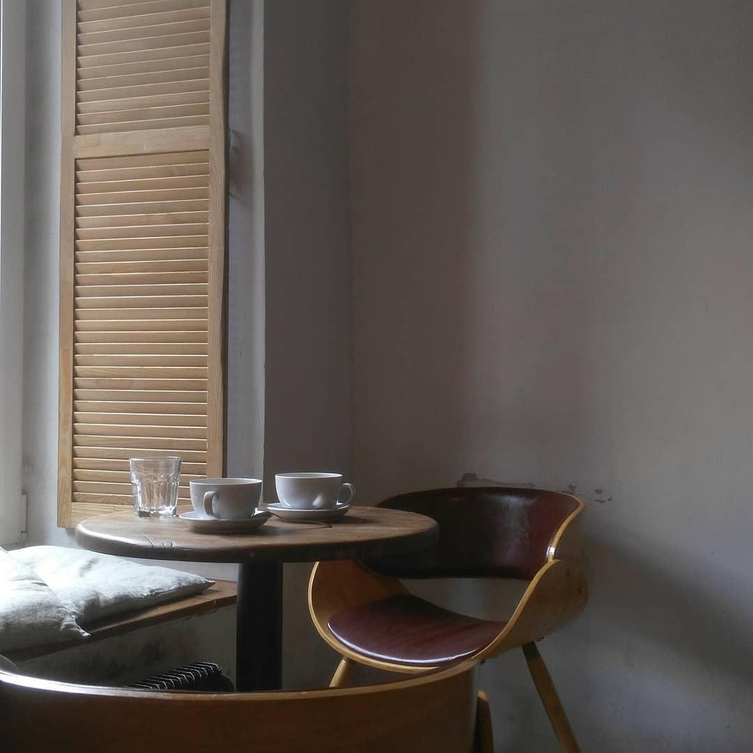 Интерьер кофейни David B. Café