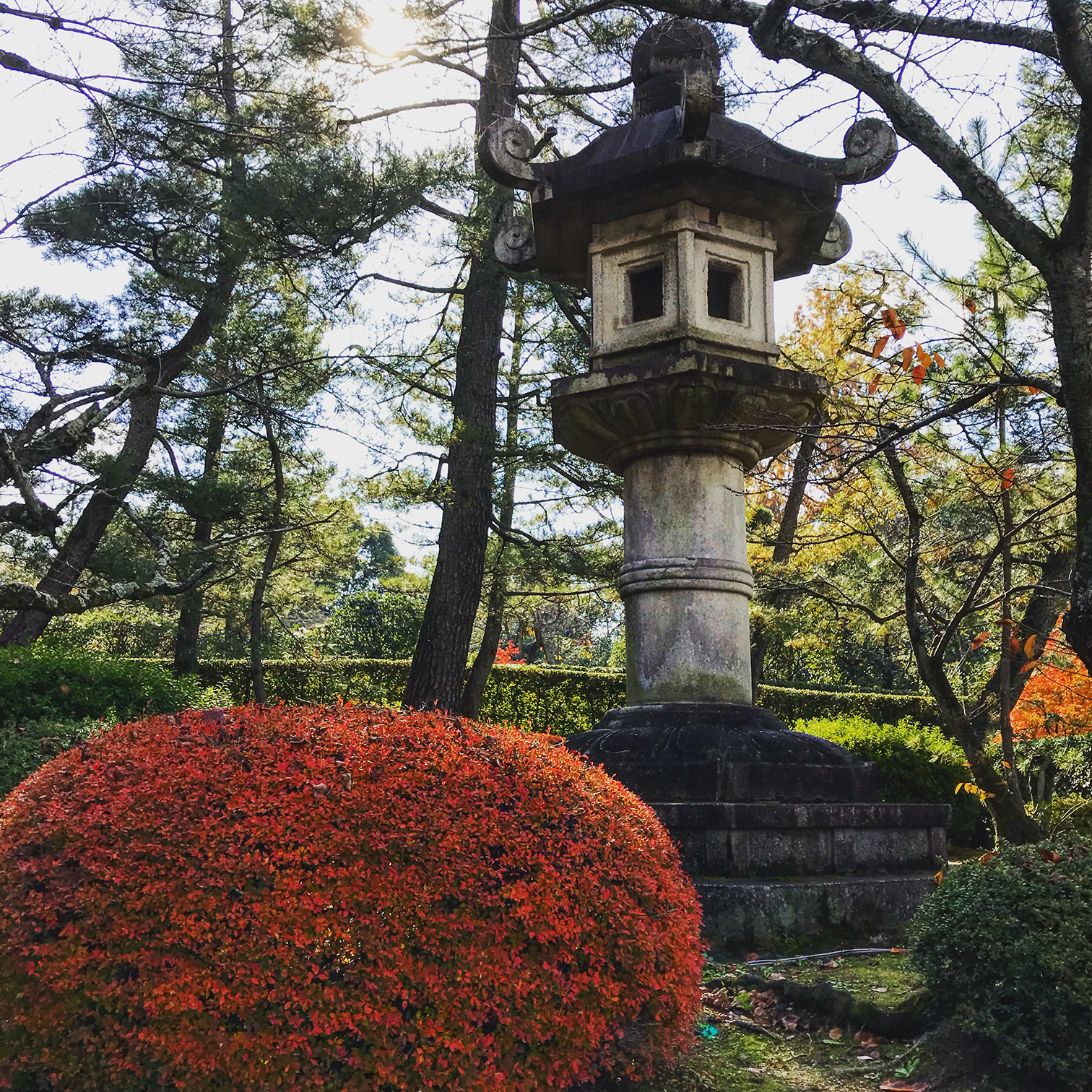 In the book \u201cJapanese Garden Design\u201d Marc Peter Keane writes \u201cStone lanterns are often used primarily as sculptural elements their function as lights ... & An Design