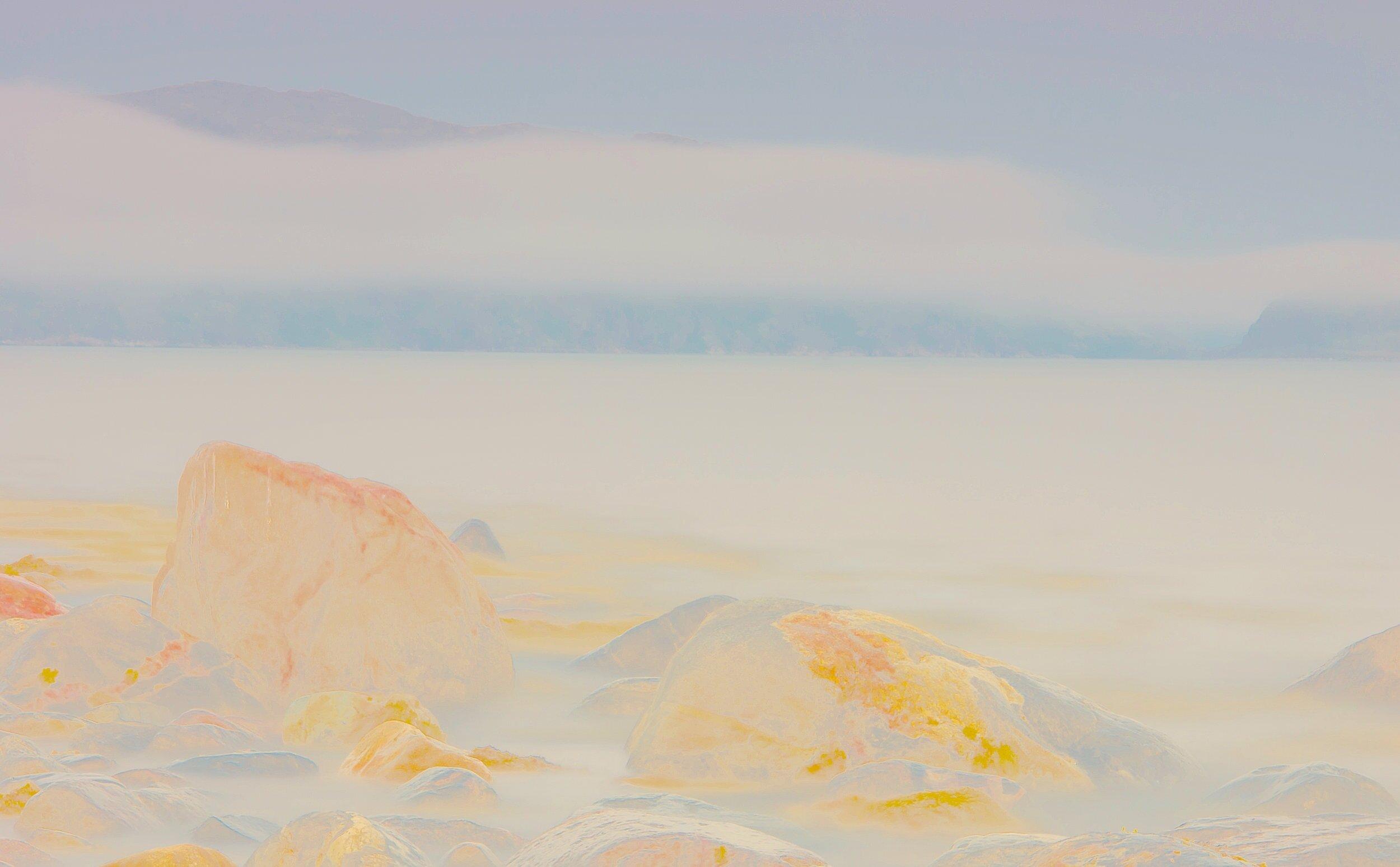 Beyond the Oecumene / Part XXXVI,  2019 Wax pastels, UV-print on paper 180 x 140 cm (71 x 55 in)