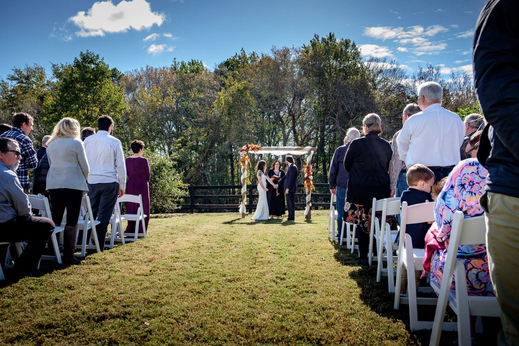 Virginia Wedding Venue _Outdoor Ceremony