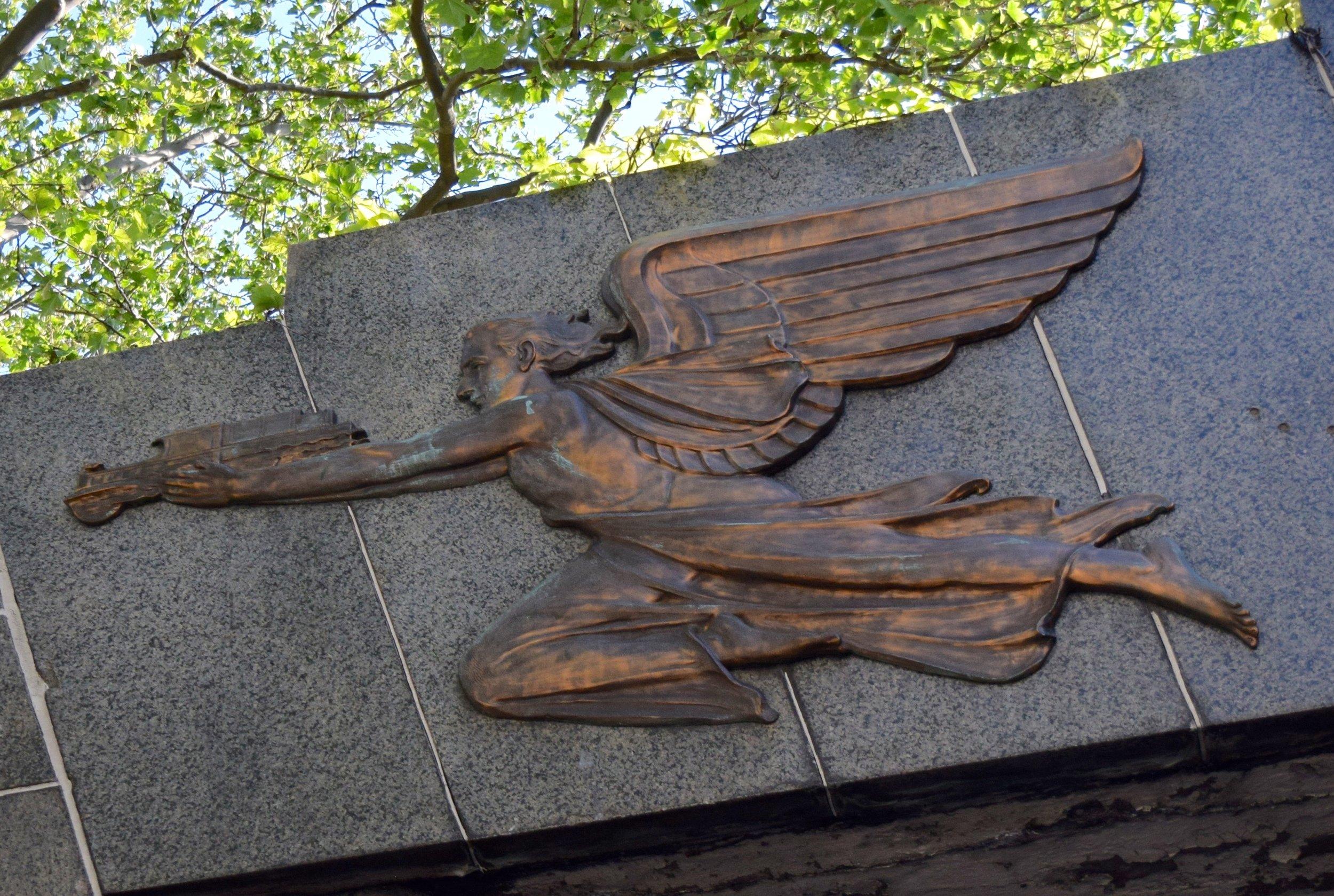 Sumner Tunnel Bronze Angel