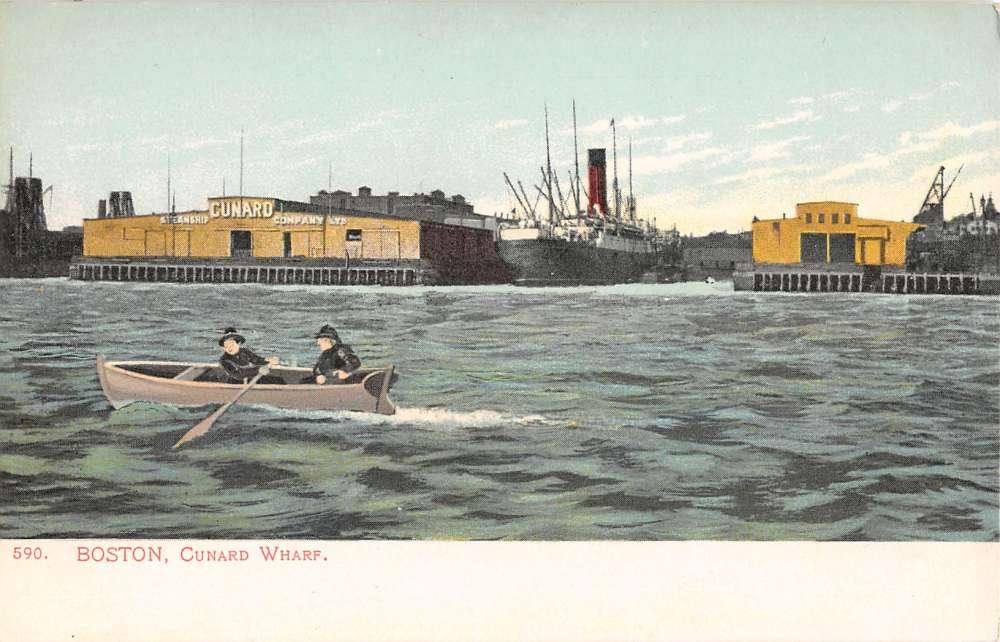 Cunard Wharf, East Boston