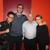 Andrea Star Reese with Steve McCurry and fellow winners of the 4th edition of the Biennial of Fine Art & Documentary Photography, sponsor of the Biennial Grant.