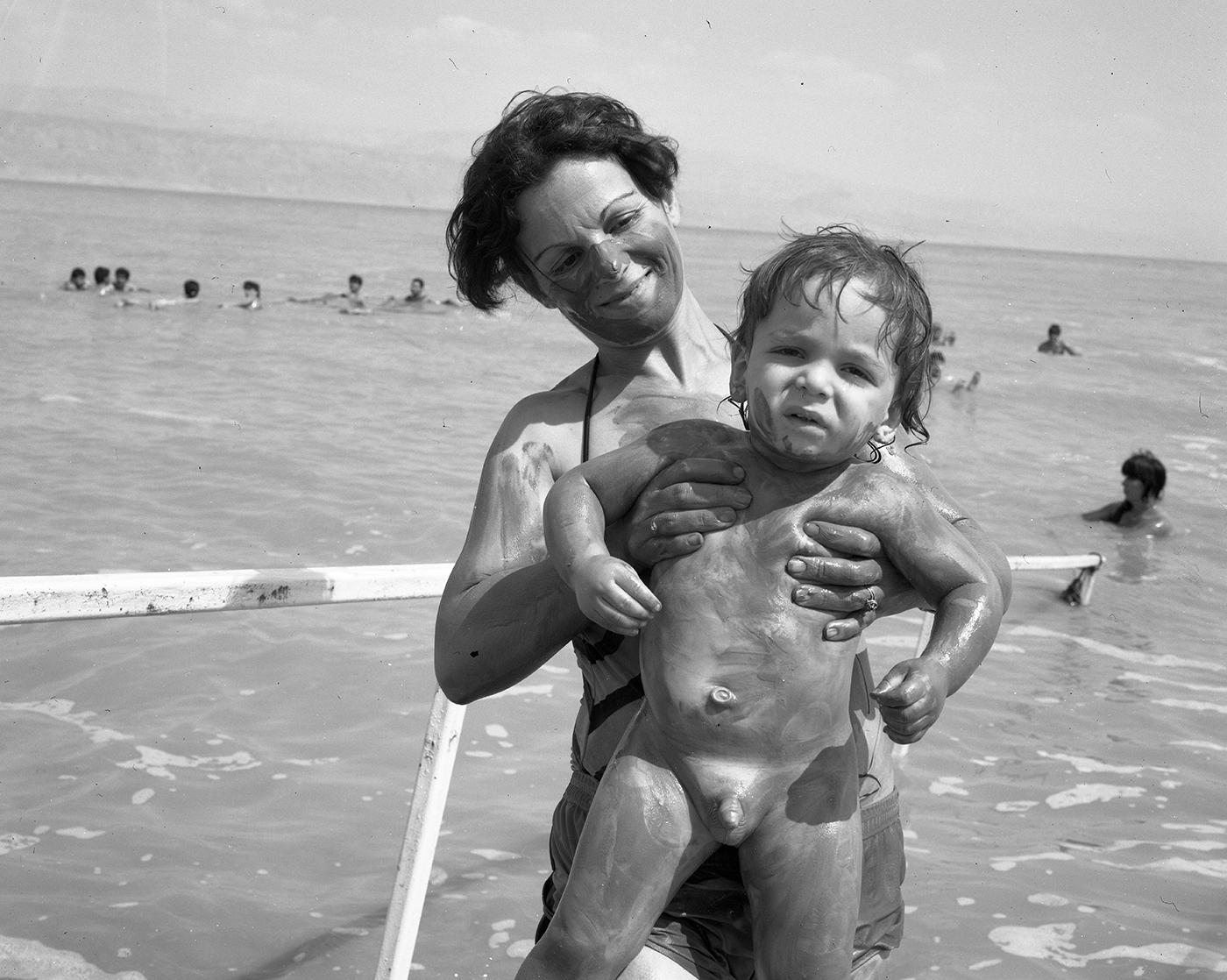 hally pancer_some arabs and some jews_jewish mother and her son_11.jpg