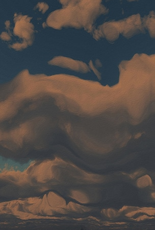 Late Afternoon (Cloud series #2)