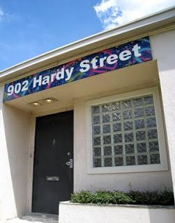 """Hardy & Nance Studios """"H"""" entrance"""