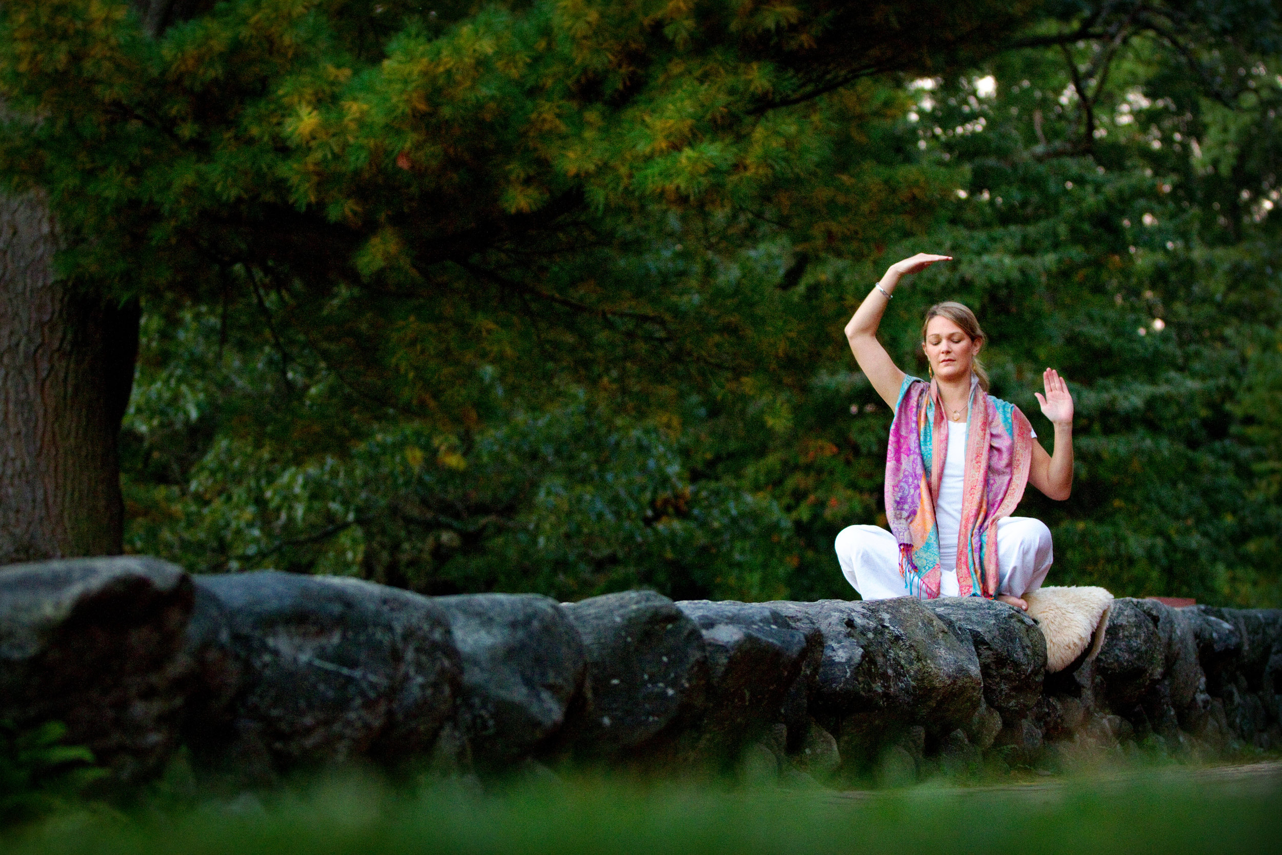 Yoga - Every morning we will start the day with Kundalini Yoga and Meditation led by the Goddess and KRI-certified Virginia Bunting.