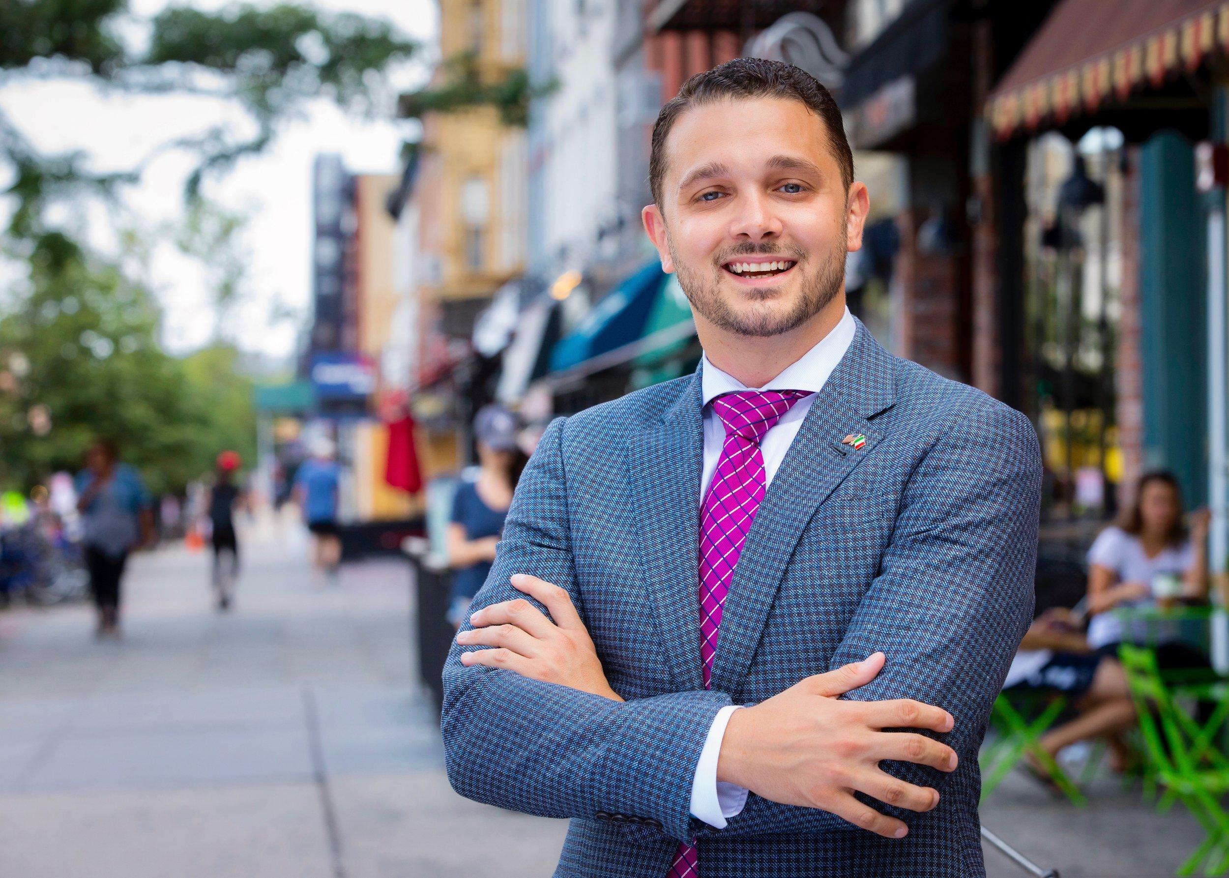 """""""It's time for new energy and new ideas to bring about the quality of life improvements our city needs and we all deserve.""""  -Mike DeFusco"""