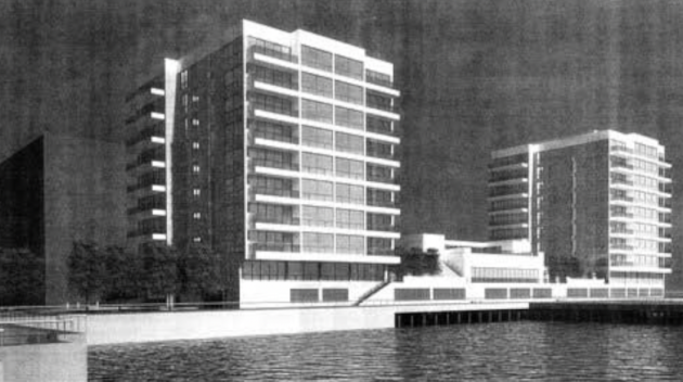 Proposed rendering of the Monarch Development