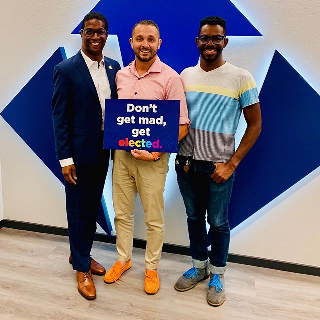 Great meeting with the @victoryfund yesterday to discuss how we have changed the political conversation in Hoboken to promote love and acceptance in our city. The Victory Fund is an incredible organization that looks to make positive change in our governments, locally, nationally and internationally. With the mission of bringing more LGBTQ individuals into elected office, I am so proud to have their support and endorsement this Election Day.   We have come a long way in building a city that is welcoming to everyone. Hoboken finally achieved a perfect score on the Human Rights Campaign Municipal Equality Index and now, as the first Chairman of the Hudson County LGBTQ Caucus, I'm helping other towns achieve this same rating and become more inclusive.  I'm looking forward to working together with the Victory Fund in the years to come to continue bringing good, inclusive policies to Hoboken and across NJ.   #hoboken #newenergynewideasnewresults #hobokennj