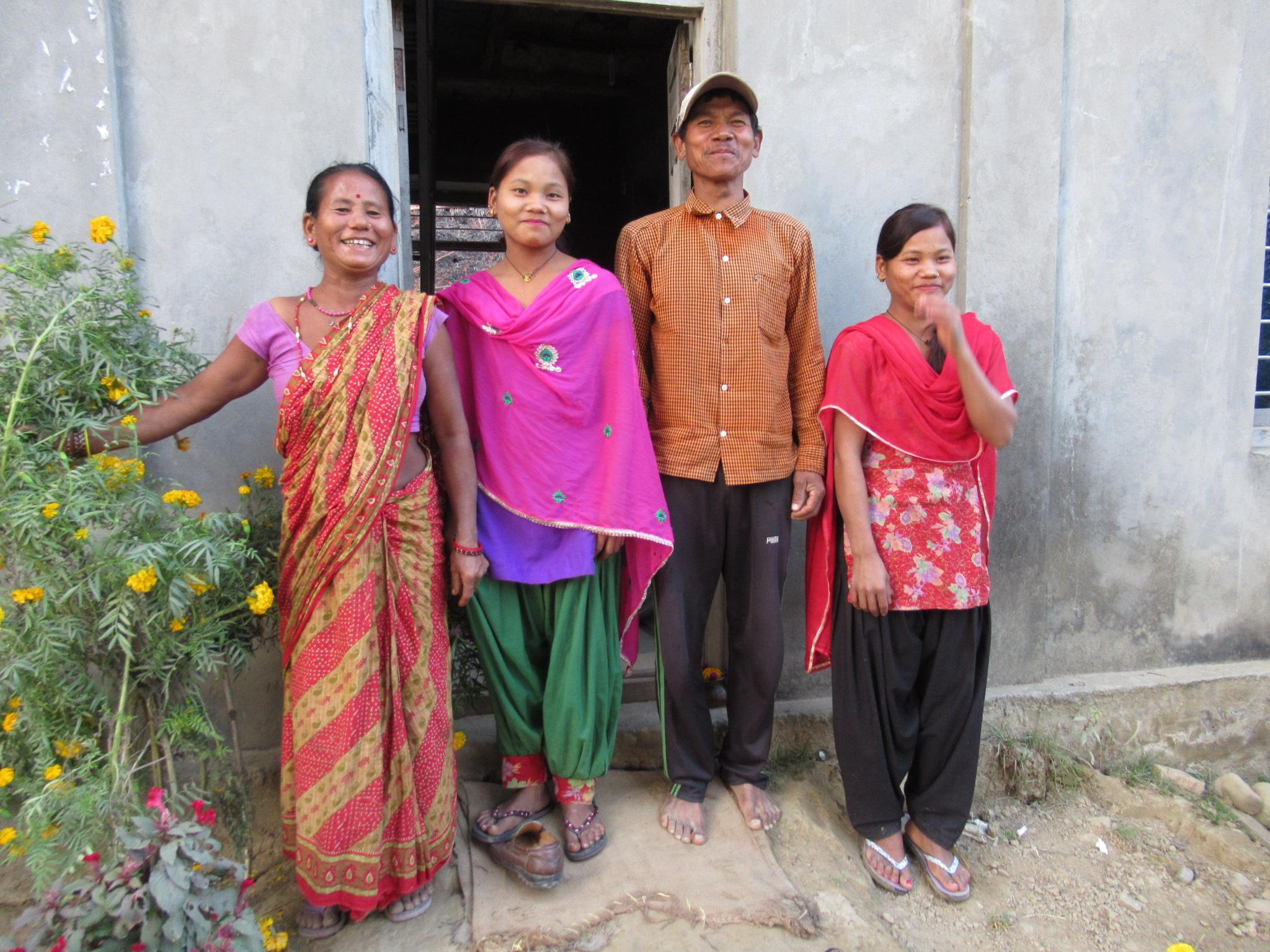 Salayani and family