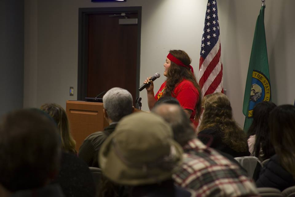 Ariana testifies in front of Auburn City Council