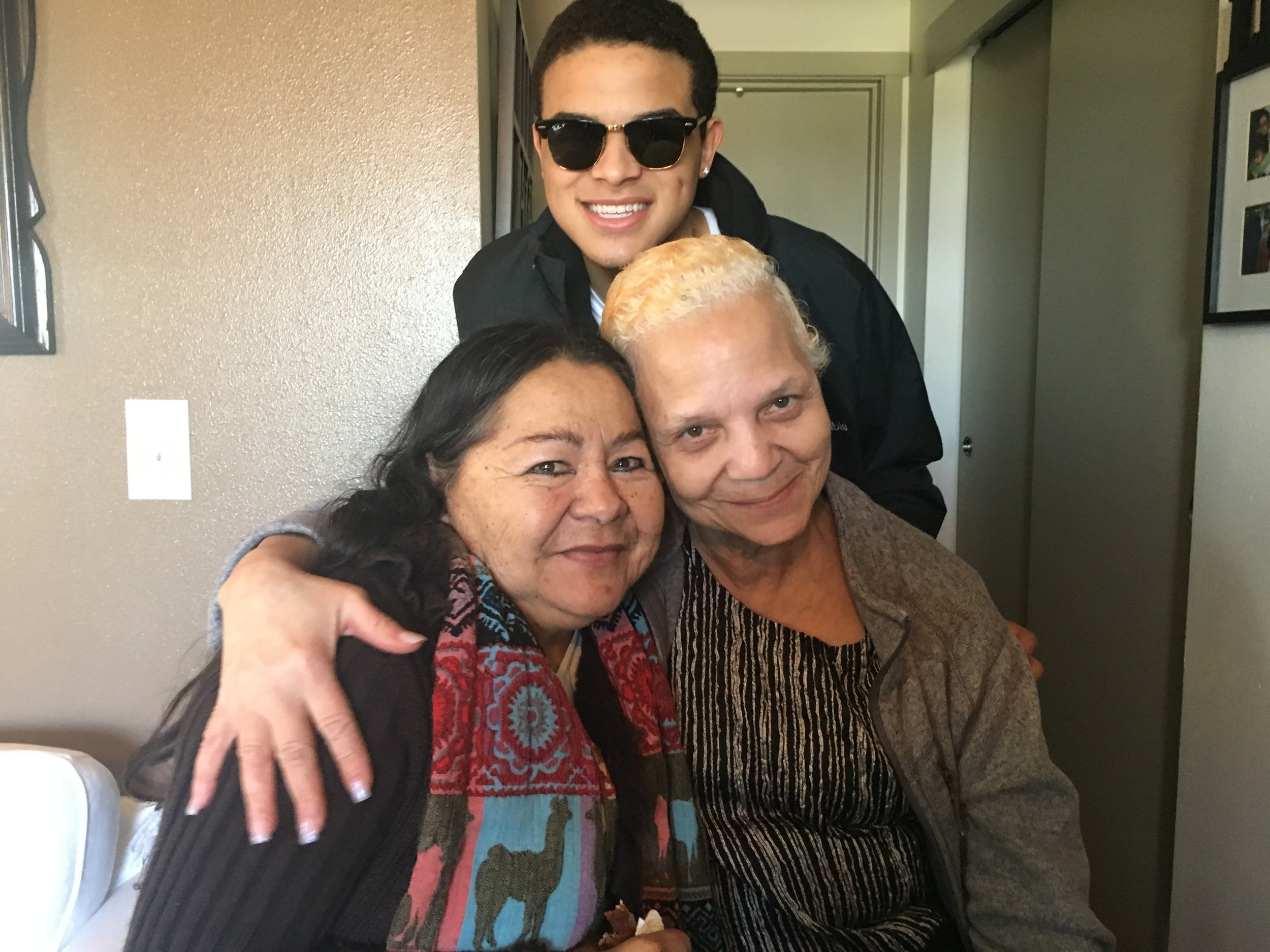 Craig and his grandmas