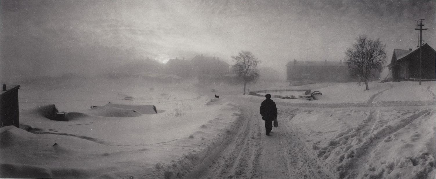 «Les routes de Russie », Solovski, mer Blanche, Russie, 1992 © Pentti Sammallahti, courtesy Galerie Camera Obscura, Paris.