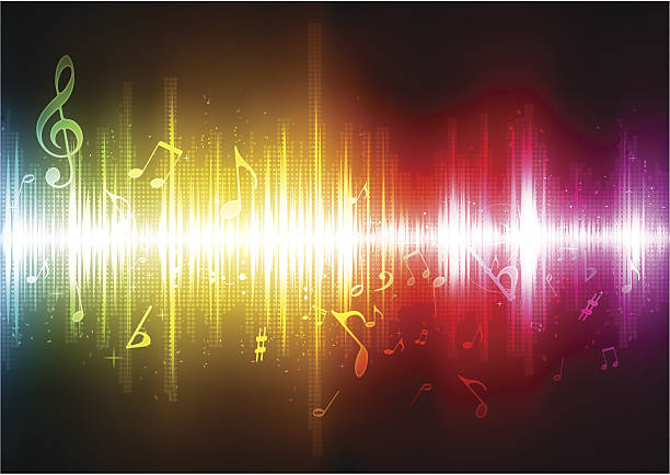 Sound Frequencies - are sound vibrations that determine the pitch of sounds we hear. In any piece of music, we hear a multitude of these frequencies.