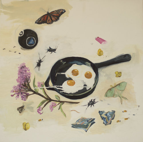 Still Life with Eggs and Money