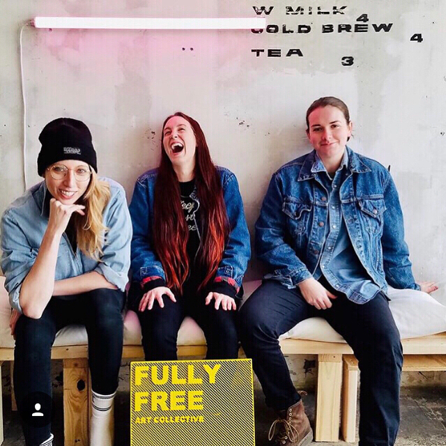 3 things u get when u participate in  @fullyfreecollective  Identity Expression Project: 1. A few hours of laughter/warm fuzzies with all kinds of lovely ppl 2. A chance to speak your truth in two mediums - words & photos  3. Some quality time w/ folx who get it & get you APPLY TODAY YALL!