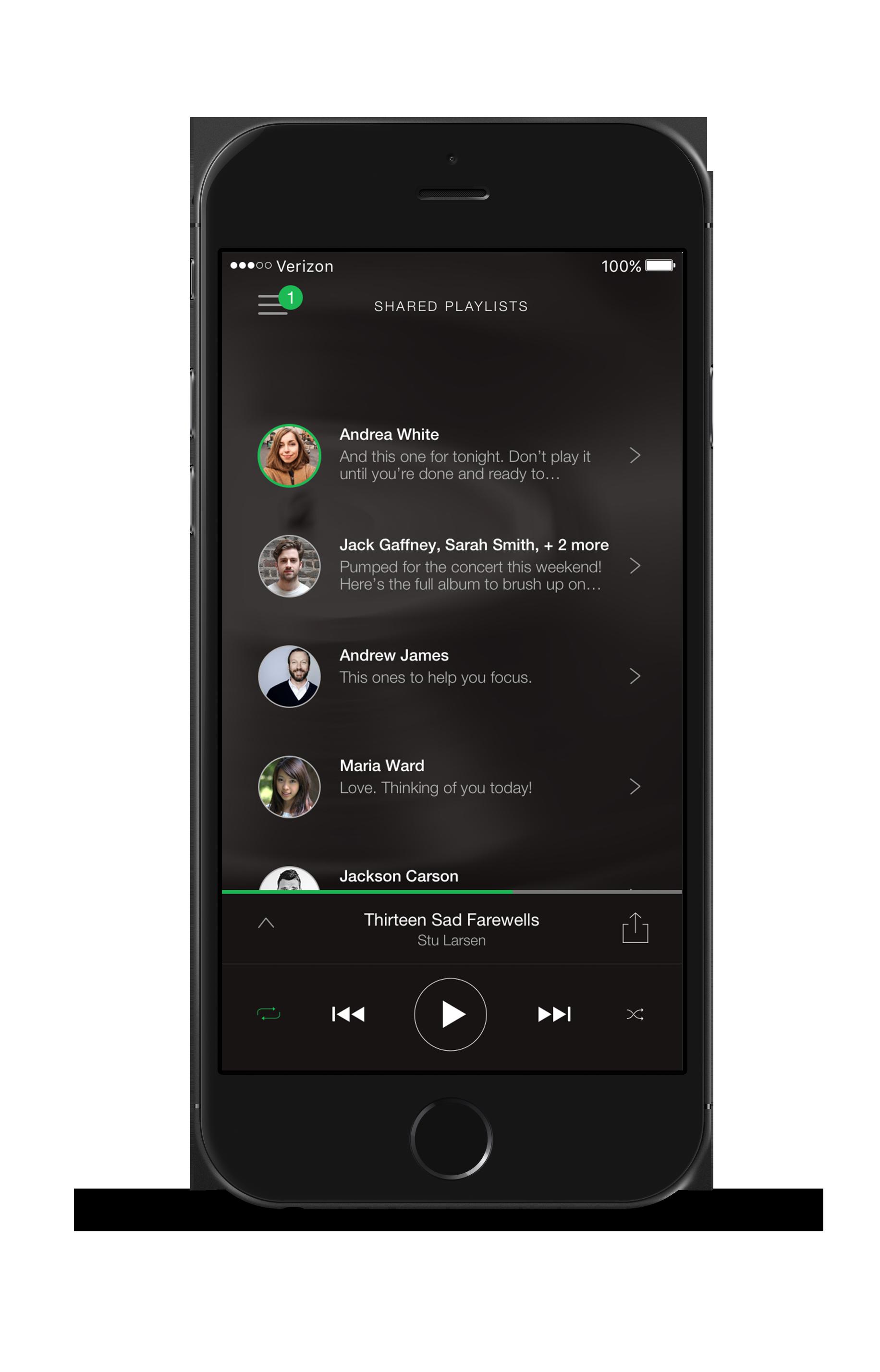 Key Screen: Shared Inbox