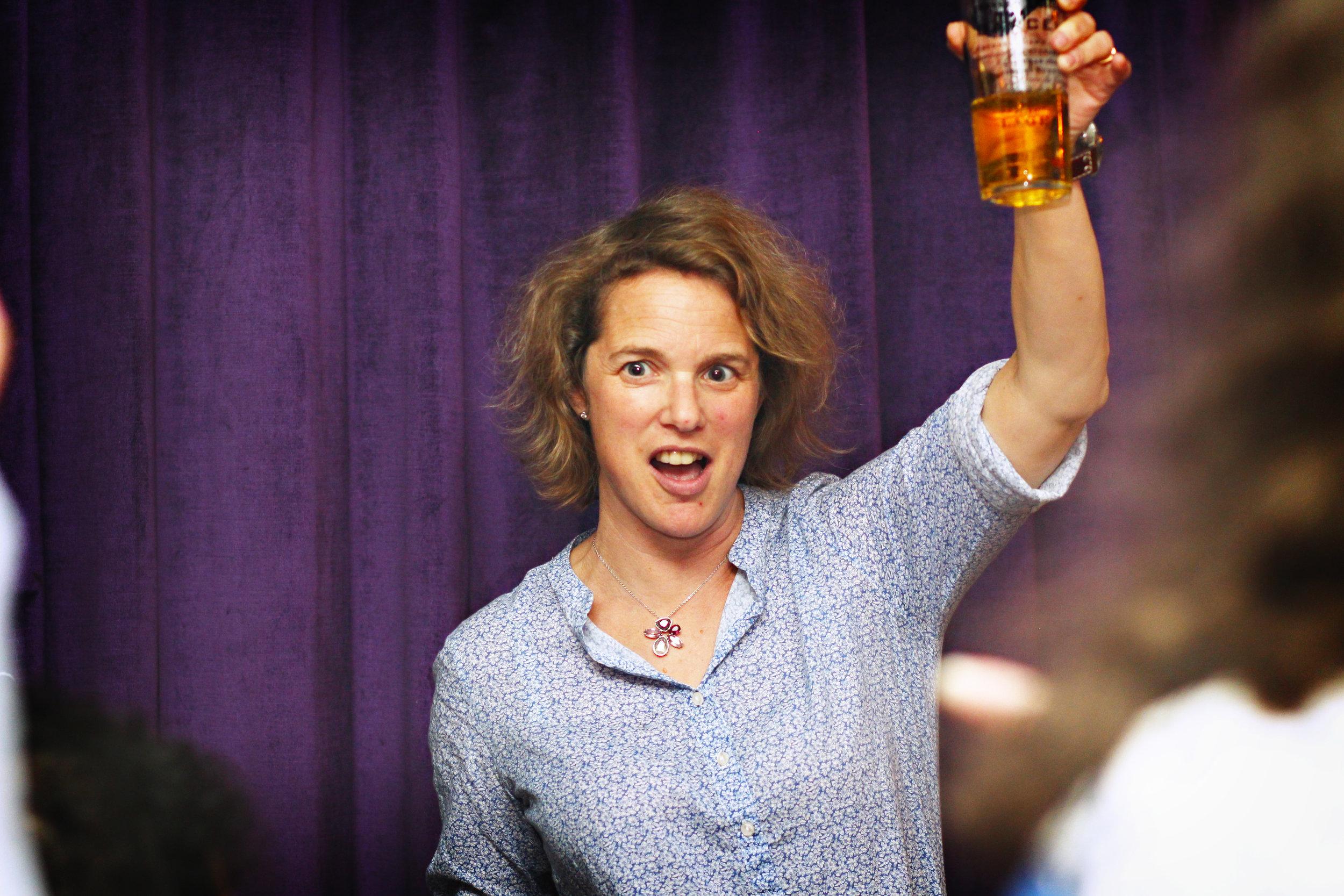 New CEO Alison Grade raises a glass to Pip's tenure