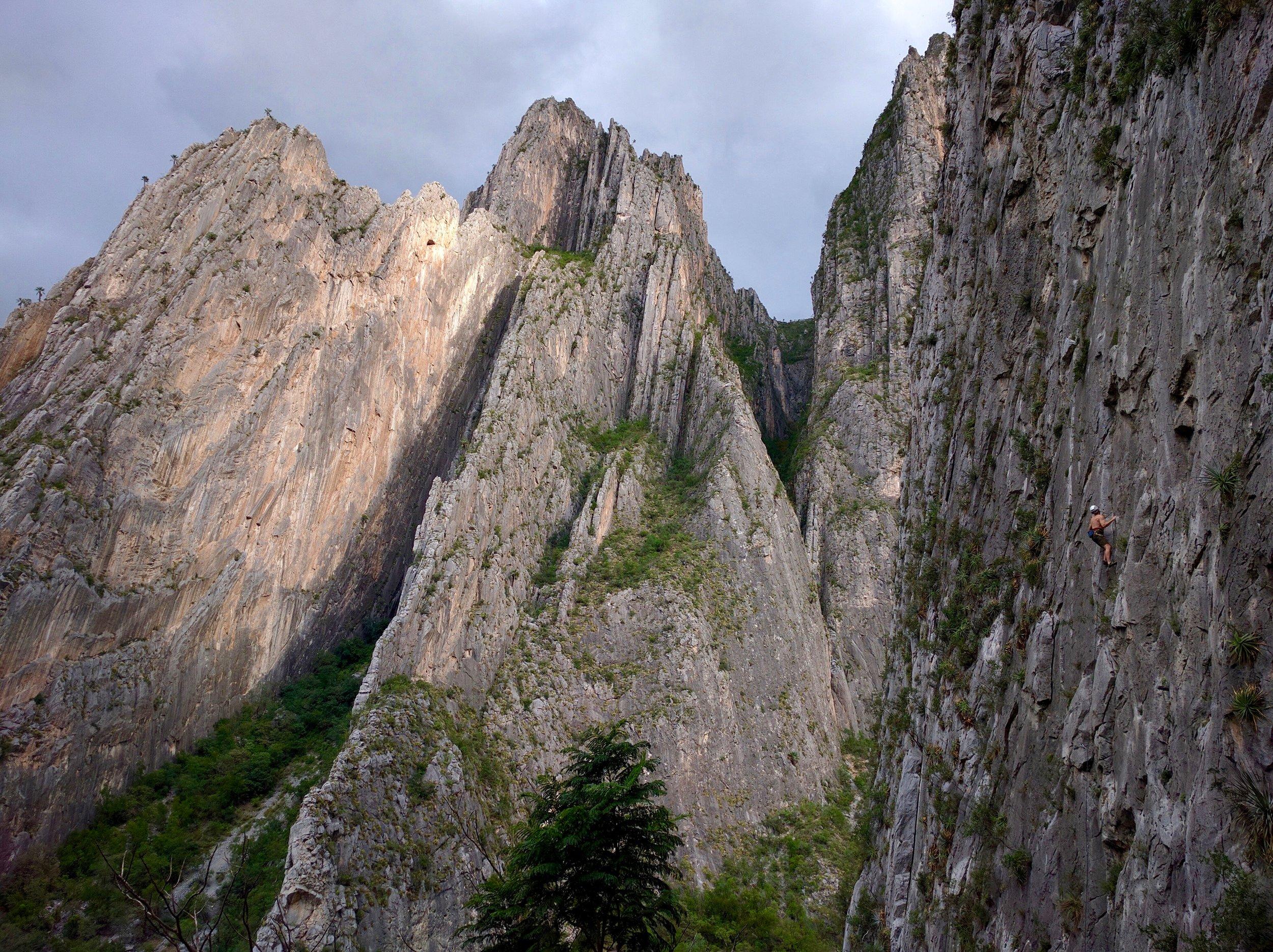 Virgin Canyon Near Dusk