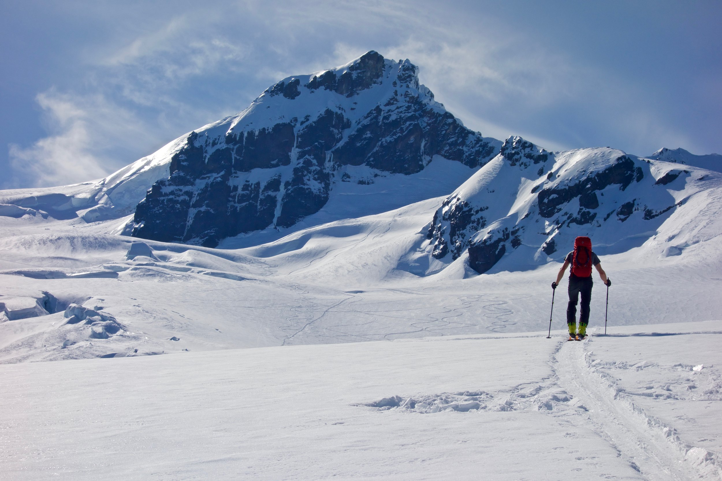 Approaching Colfax Peak. Photo by Dale Apgar.