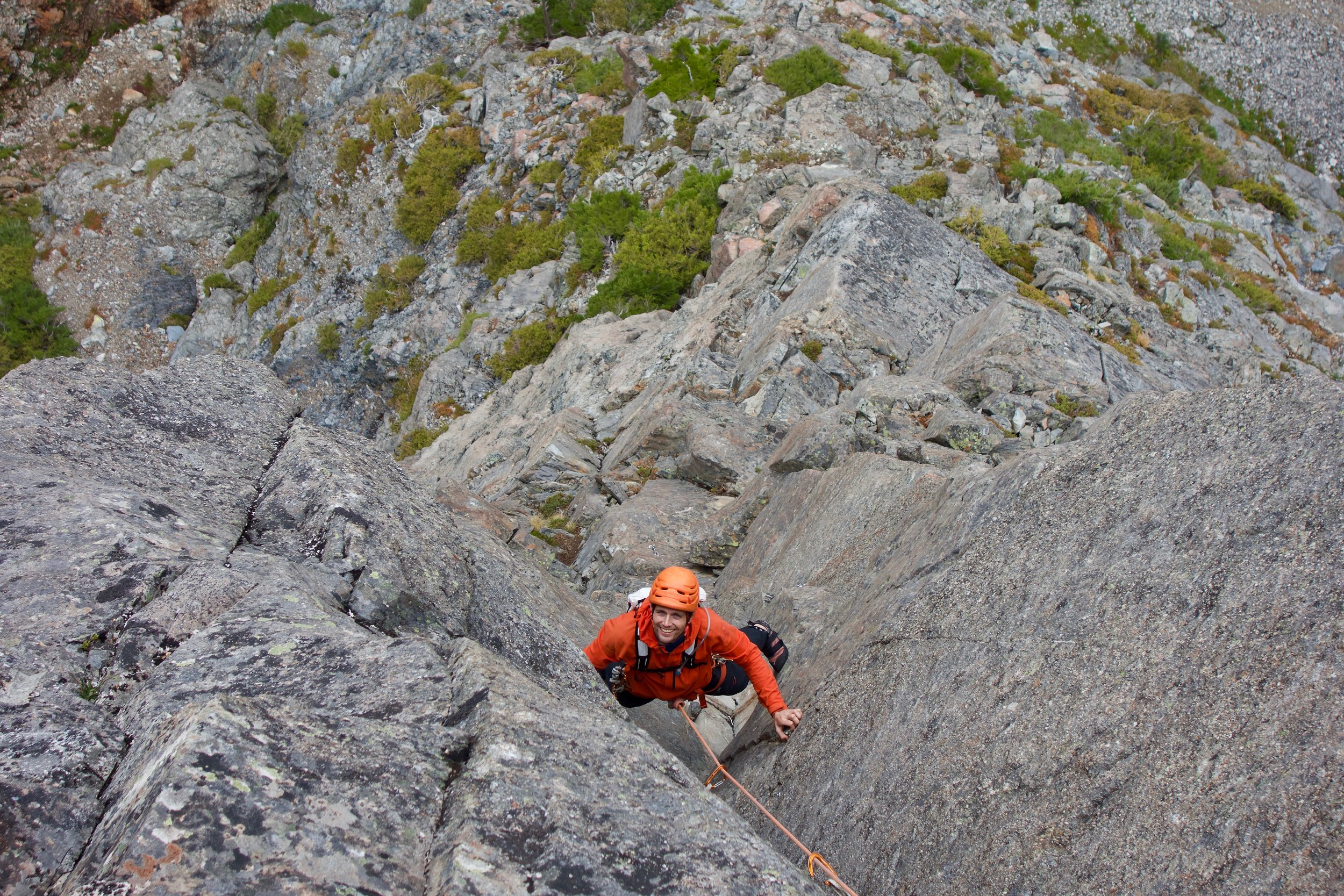 Goran on the dihedral pitch