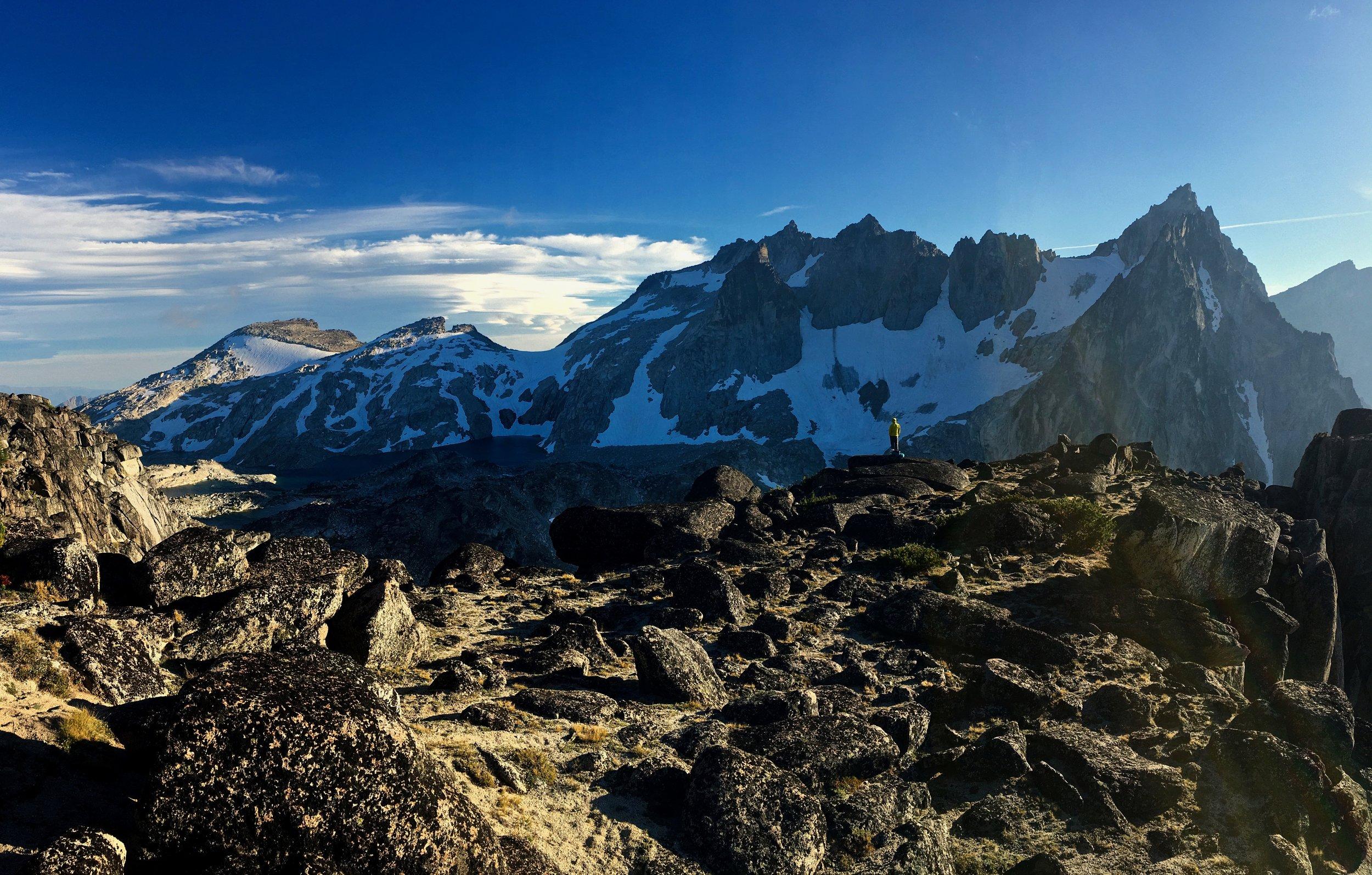 Beautiful summit views