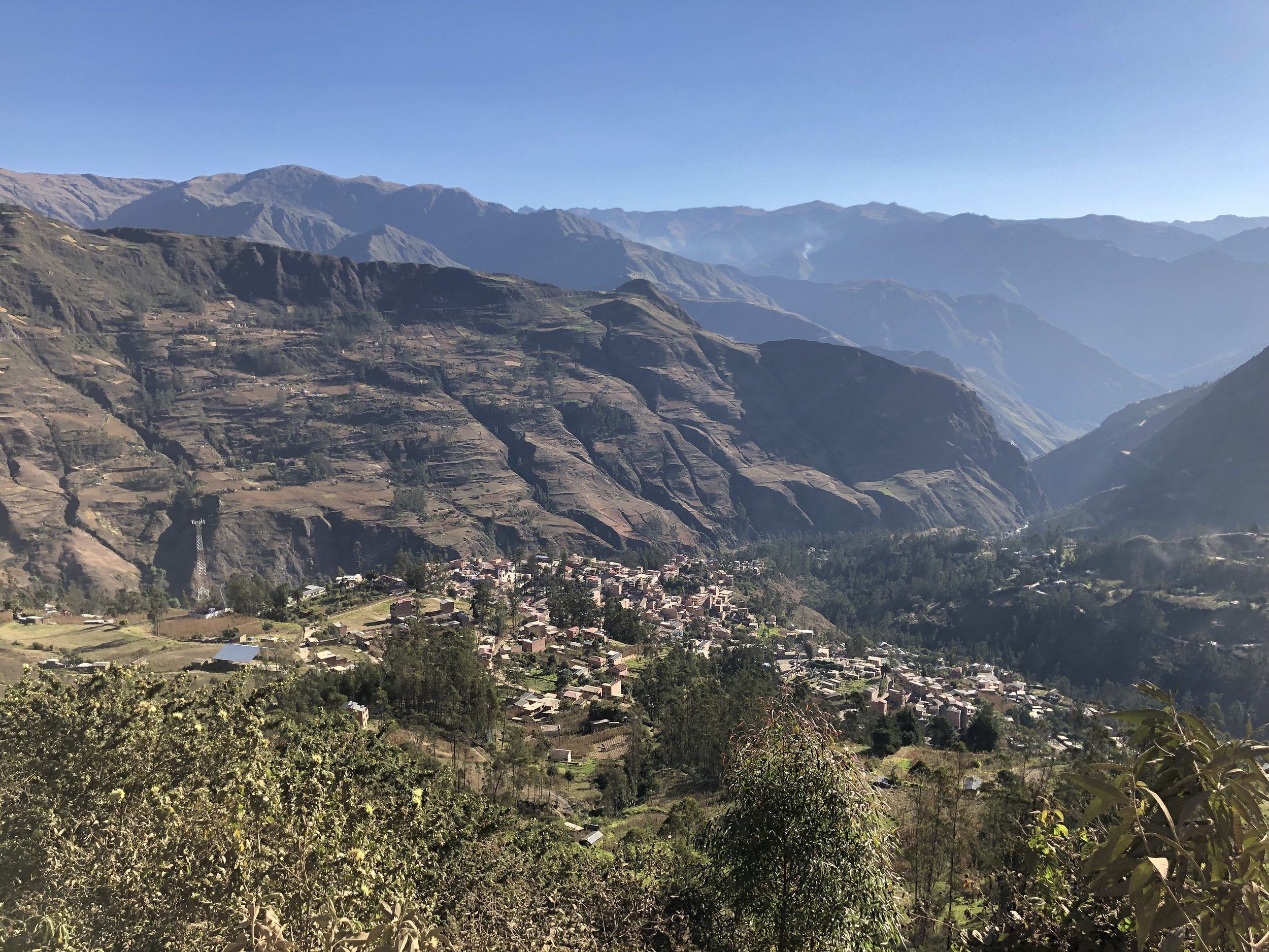 Sorata from the road to Lakathiya