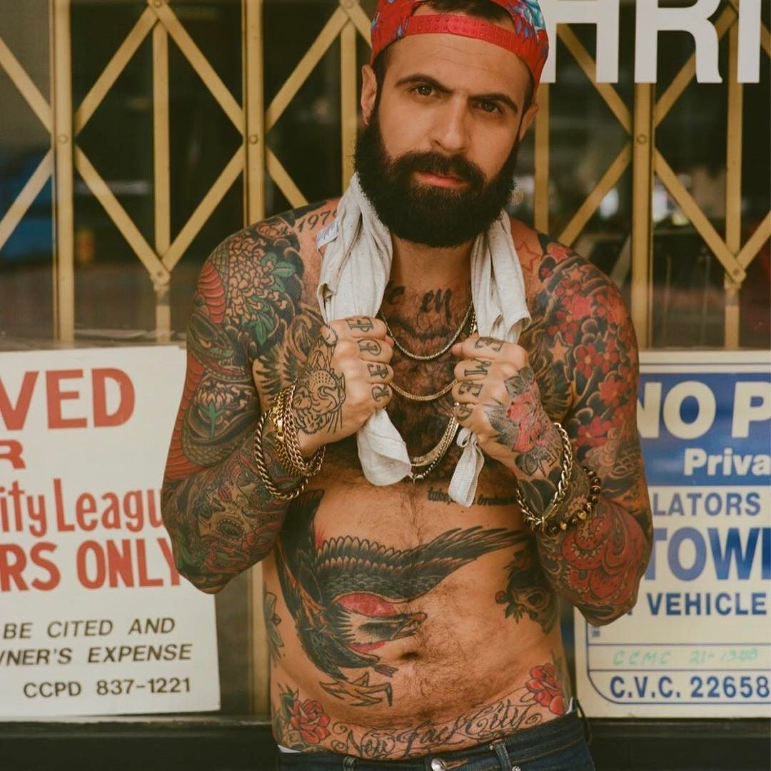 Brett David  - 22.5 K FANSIN / SiteBrett David is a writer, model, and designer. Brett has amazed thousands of followers posting about his action packed modeling career using his beard and tattoos as his trademark.