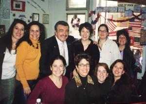 Lynn, Nino, Paula, Debbie in the purple passed away in 2015, Renee, me, Judy!