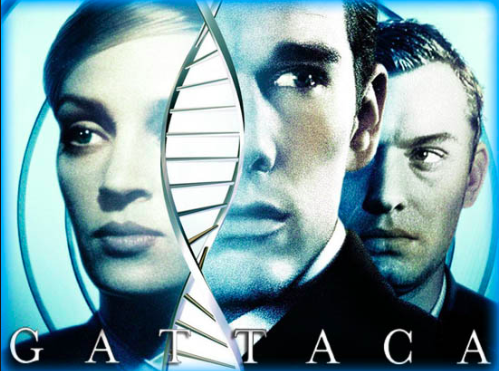 I never noticed the movie name is made of nucleotides (make DNA) until today! Something about the letters look in this graphic made it more noticeable.
