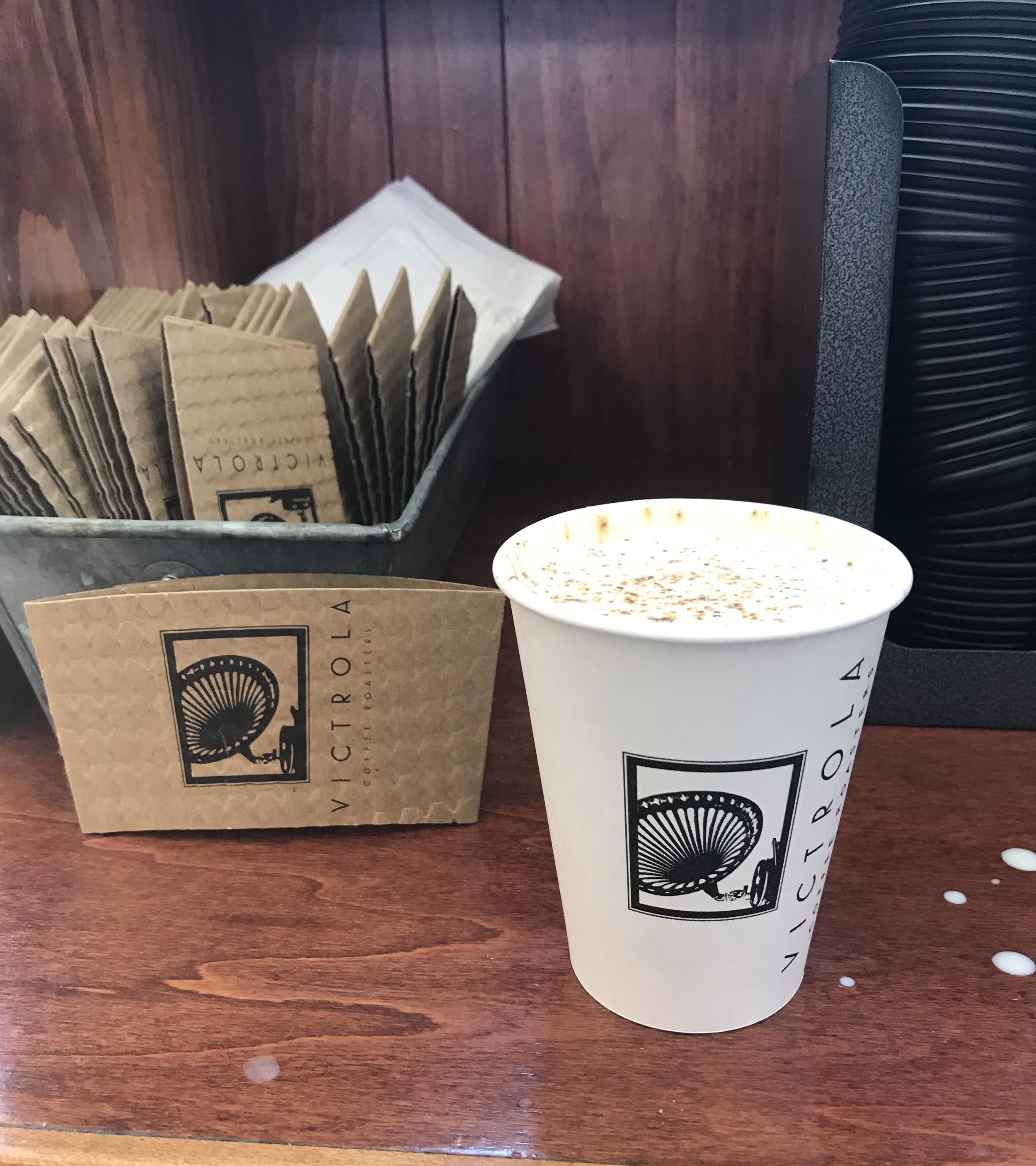 My overpriced dixie cup of tumeric latte at a local coffee shop. So many in this city seriously don't understand what it's like to live on a really small budget. It's embarrassing. I'm embarrassed for some of these businesses and the people who choose to look away and pretend like all of this is ok.